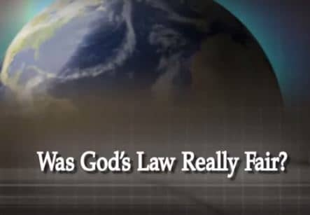 Was God's Law Really Fair?