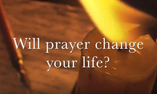 VIDEO: Moments that Matter – Will Prayer Change Your Life?