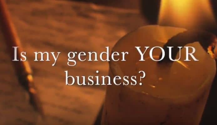 VIDEO:  Moments that Matter – Is My Gender YOUR Business?